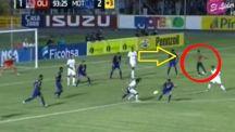 فيديو: مشجع ولاعب يسجلان هدفين في الوقت القاتل بنفس اللحظة!