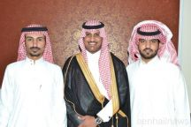 بالصور عائلة الاطرم تحتفل بزواج ابنها الشاب محمد حمود السالم