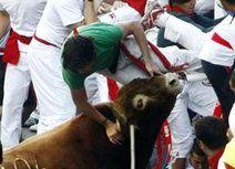 ثور يقتل رجلاً في مهرجان بامبلونا باسبانيا