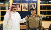 أمير حائل يقلد مدير الدفاع المدني بالمنطقة رتبته الجديدة