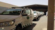 اطلق فرع وزارة البيئة والمياة والزراعة في منطقة حائل خمس عيادات متنقلة
