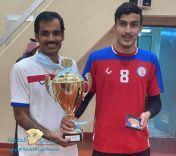 حقق نادي فيد الرياضي لكرة الطائرة اليوم الاثنين بطولة دوري المنطقة لكرة الطائرة