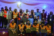 الهلال الاحمر يختتم مشاركاته بفعاليات رالي حائل 2018