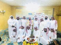 الأستاذ إبراهيم الجلعود يكرم أعضاء مجلس إدارة صحيفة عين حائل الإخبارية