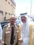 حارس الأمن صحن الشمري :أسعد لحظات حياتي لقائي بأمير حائل الأمير عبدالعزيز بن سعد
