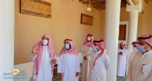 مدير عام فرع الشئون الاسلامية بحائل  في زيارة لجامع الجلعود التاريخي بسميراء