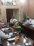 الإجتماع التاسع الإعتيادي للمجلس البلدي بمحافظة الشملي