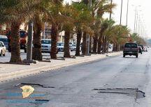 """""""المجلس البلدي"""" يطلق حملة لمعالجة حفر وتشققات الطرق وترميم الأرصفة وإصلاح أعطال الإنارة"""