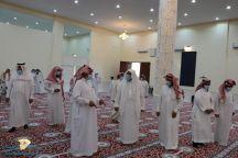 الشوؤن الاسلاميه بمنطقة حائل تتفقد عدد من المساجد بمدينة الخطة التابعة لمنطقة حائل