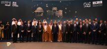 """بالصور.. رئيس الوزراء العراقي يفتتح معرض """"مدن دمرها الإرهاب"""" في الرياض"""