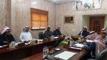 الإجتماع الإعتيادي الثاني عشر للمجلس البلدي بمحافظة الشملي