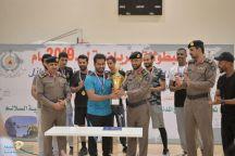 مدير مدني حائل رعا اختتام الأنشطة الرياضية التنشيطية خلال الشهر الكريم