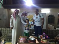 """بالصور :"""" صحيفة عين حائل """" تكرم الأطفال الفائزين بمسابقة أفضل زي وطني 87"""