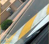 مطالبات بتطبيق «الألوان العاكسة» على المطبات بأحياء مدينة حائل