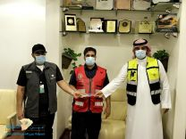 كرم نادي التطوع الصحي  بحائل مطلق عبدالعزيز الشمري و ناصر عبدالكريم الشمري