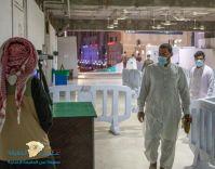 بالصور: لحظة توافد المُصلين لأداء صلاة أول فجر في المسجد الحرام ضمن المرحلة الثانية من عودة المعتمرين