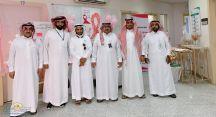 مركز صحي القاعد أقام معرض توعوي عن سرطان الثدي.
