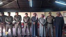 العميد عبدالله الركيان يقوم بزيارة تفقدية لمدني الفيضه بعد عشرة ايام من افتتاحه