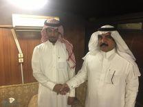 الأستاذ فهد سعد العامر يكافئ الطالبة المتميزة سديم الشمري ب 5000ريال