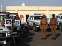 إفتتاح مركز انطلاق دوريات أمن طرق كيلو ١٠٠ الواقع بالحليفة العليا