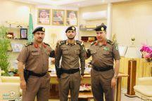 نواف بن عبدالله الذبياني لرتبته الجديدة ( ملازم أول )