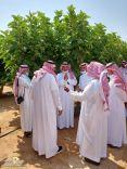 بيئة حائل تنظم ورشة عمل بعنوان(افات فاكهة التين وطرق مكافحتها)