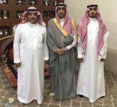 زار العميد. متقاعد سعود بن سند آل علي عصر اليوم إبن سعيّد وإبن مسمار منزليهما