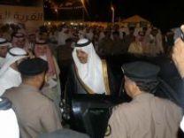"""الأمير عبدالعزيز بن سعد يعلن انطلاق فعاليات مهرجان صيف حائل """";صيفنا يحلى بضيفنا"""";"""