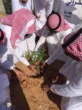 فريق مساند التطوعي ومبادرة التشجير بمحافظة الشملي