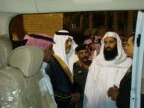 نائب أمير حائل يدشن العيادة المتنقلة لعلاج المدخنين