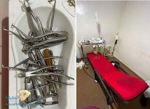"""عامل بمهنة """"حداد"""" يعمل طبيب أسنان في عيادة خاصة"""