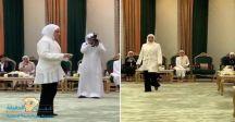 لأول مرة في تاريخ #الكويت .. شاهد : 8 قاضيات كويتيات يؤدين القسم