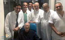 أول صور للرئيس التونسي بعد الأزمة الصحية