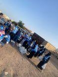 (صحيفة عين الحقيقة ) تُشارك فريق JOY OF YOUTH في توزيع وجبات الافطار قبل المغرب هذا اليوم الجمعة وسط حائل .