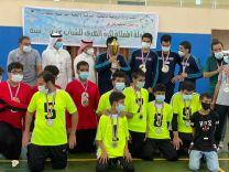نادي حائل لذوي الإعاقة ينتزع كأس بطولة المملكة في كرة الهدف للشباب