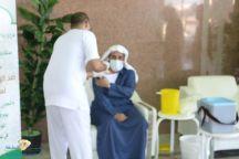 الشؤون الإسلامية بمنطقة حائل تنظم حملة لتطعيم الانفلونزا الموسمية