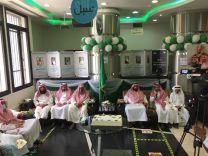 بالصور ،، إحتفلت إدارة  البريد السعودي بمنطقة حائل  اليوم الأحد الموافق 19-2-1443هـ باليوم الوطني 91