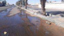 بالقاعد تسرب المياه يضايق السكان بالمخطط الغربي