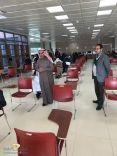 سعادة وكيل جامعة حائل يطمئن على سير اختبارات الطلاب في الكلية للفصل الدراسي الأول للعام الجامعي 1440-1441هـ
