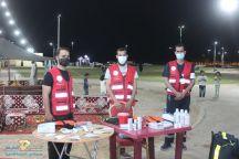 يشارك مركز اسعاف محافظة بقعاء بـ فرقة إسعاف مجهزة بالكوادر الطبية المتخصصة في مهرجان صيف محافظة بقعاء