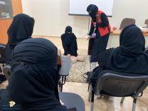 نفذ فرع هيئة الهلال الأحمر السعودي بحائل دورة تدريبية لعدد من المواطنات