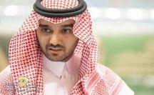 """خلفاً لـ""""آل الشيخ"""" .. """"الفيصل"""" رئيسًا للاتحاد العربي لكرة القدم"""