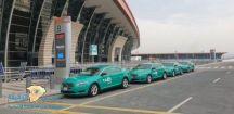 """إطلاق الهوية الجديدة لـ""""تاكسي مطار جدة"""" باللون الأخضر"""