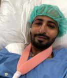 عملية جراحية ناجحة للزميل أحمد العنزي