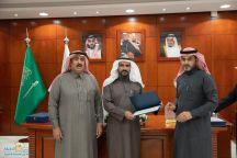 مدير هدف يكرم رئيس غرفة حائل الأستاذ عبدالعزيز الزقدي والجهات التطوعية بالمنطقة
