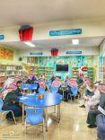 ثانوية الفاروق تبدأ الفصل الدراسي الثاني بإجتماعها الثالث بطاقم المعلمين..