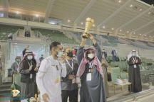 منتخب جامعة حائل لكرة القدم يحقق كأس دوري الجامعات السعودية بعد تغلبه على منتخب جامعة الملك فيصل بهدفين مقابل هدف