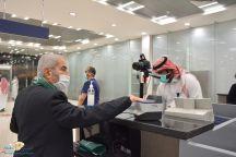 جوازات مطار حائل تستقبل أولى رحلات عودة المواطنين من الخارج