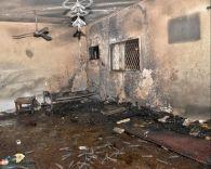 مدني حائل يخمد حريق شب بمنزل بحي الزهرة شمال حائل بسبب شاحن جوال