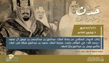 قبل 66 عاماً وفي مثل هذا اليوم.. إعلان وفاة الملك المؤسس ومبايعة الملك سعود ملكاً